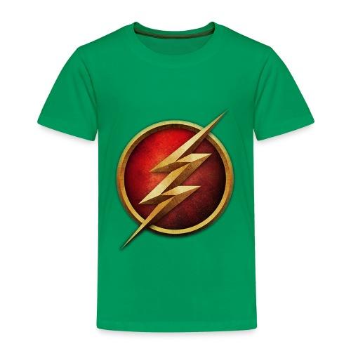 the_flash_logo_by_tremretr-d8uy5gu - Toddler Premium T-Shirt