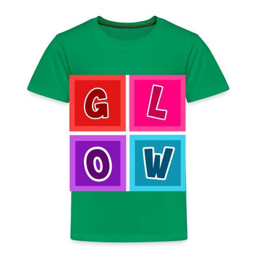 Glow Blocks - Toddler Premium T-Shirt