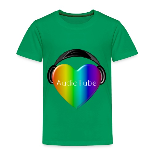 I LOVE AudioTube - Toddler Premium T-Shirt