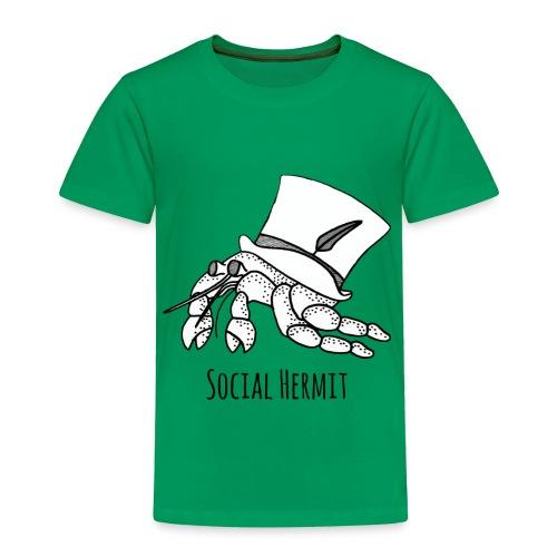 SocialHermit - Toddler Premium T-Shirt