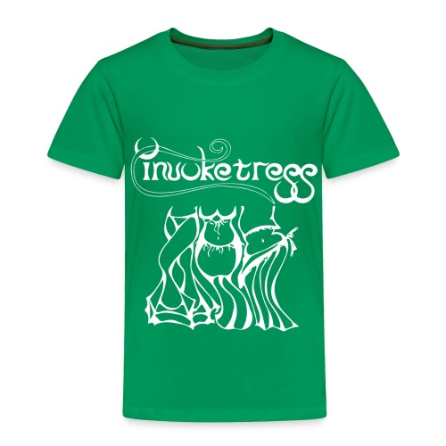 Invoketress Bellies Logo in White - Toddler Premium T-Shirt