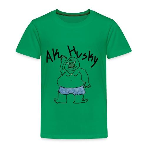 AK HUSKY - Toddler Premium T-Shirt