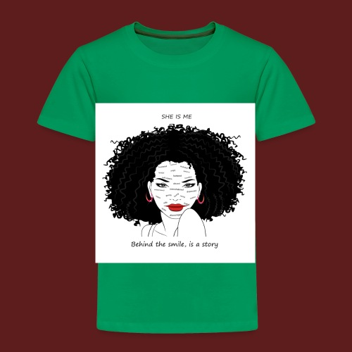 A T-shirt design all women can relate to. - Toddler Premium T-Shirt