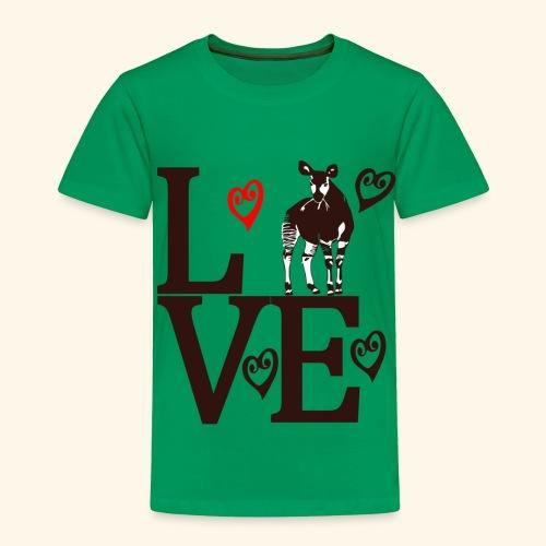 Okapi Love - Toddler Premium T-Shirt