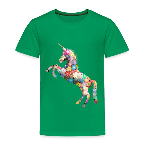 beatiful unicorn - Toddler Premium T-Shirt