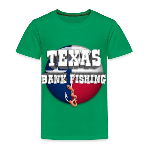Texas Bank Fishing - Toddler Premium T-Shirt