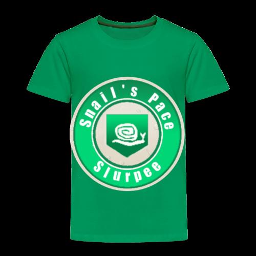 Snails Pace Slurpee - Toddler Premium T-Shirt