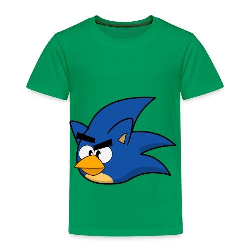 Sonic Angry Bird - Toddler Premium T-Shirt
