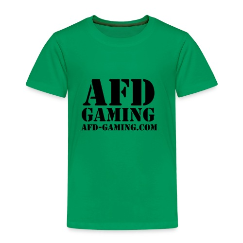AFD GAMING Stencil Blk - Toddler Premium T-Shirt