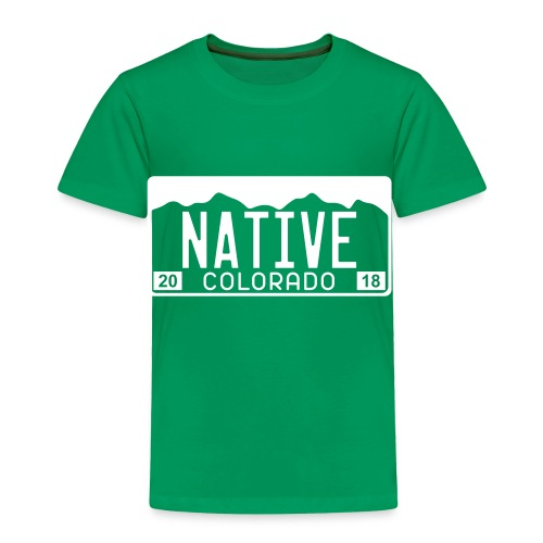 Colorado Native 2018 - Toddler Premium T-Shirt