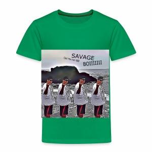 The Savage Boi Cam on the Beach - Toddler Premium T-Shirt
