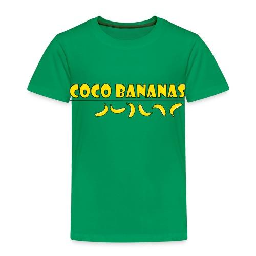 Coco Bananas - Toddler Premium T-Shirt