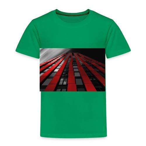 red, black & white - Toddler Premium T-Shirt