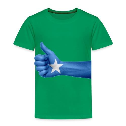 somalia - thumps Up - Toddler Premium T-Shirt