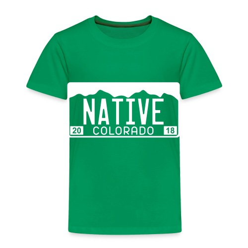 Colorado Native 2018 - Toddler Premium T-Shirt