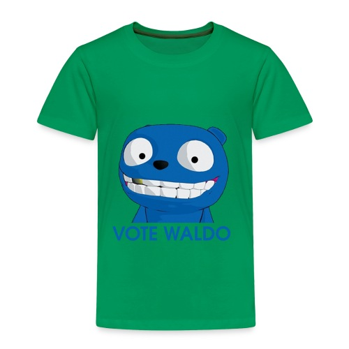 Vote Waldo - Toddler Premium T-Shirt