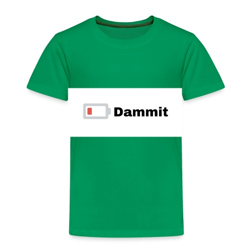 Low Battery Phone Case - Toddler Premium T-Shirt