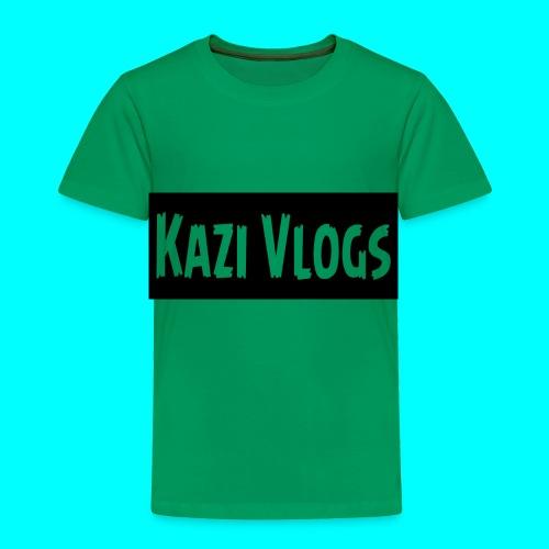 Kazi Vlogs - Toddler Premium T-Shirt