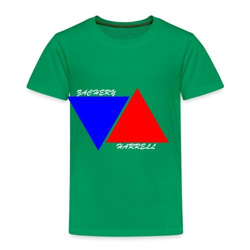 Officail 2017 Zachery Harrell logo - Toddler Premium T-Shirt