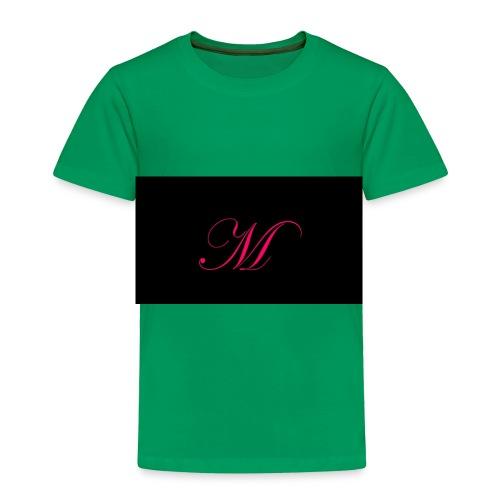 EDWARDIAN M MONOGRAM - Toddler Premium T-Shirt