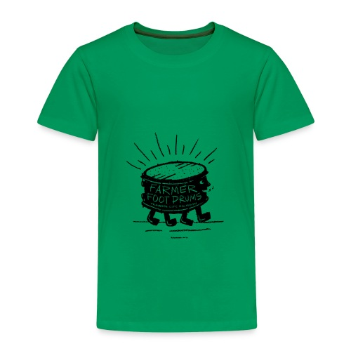 Farmer Foot Drums - Toddler Premium T-Shirt