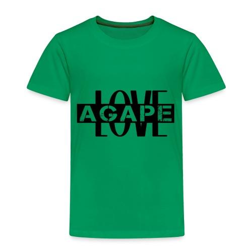 Agape LOVE - Toddler Premium T-Shirt