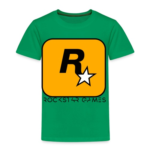 Custom Rockstar Logo - Toddler Premium T-Shirt