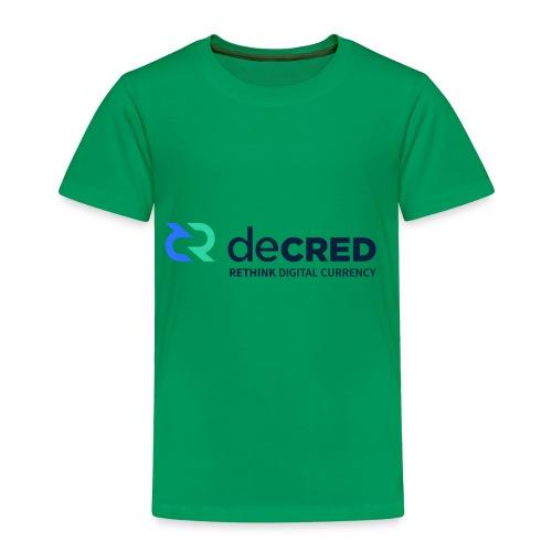 decred - Toddler Premium T-Shirt