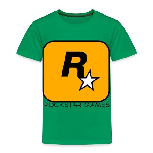 Custom Rockstar Logo - Toddler Premium T-Shirt