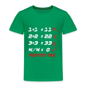 POOR MATH CALCULATION - Toddler Premium T-Shirt