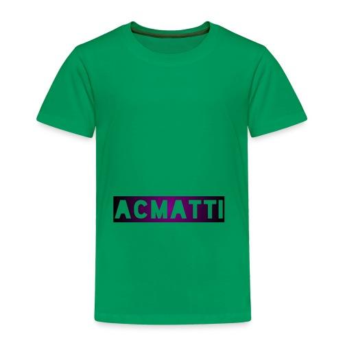 Simple ACMATTI - Toddler Premium T-Shirt