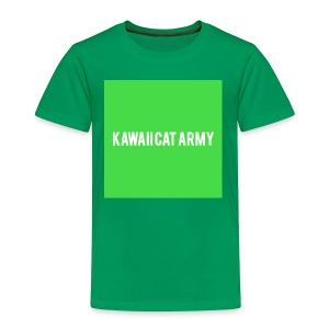 Kawaii Cat Army - Toddler Premium T-Shirt