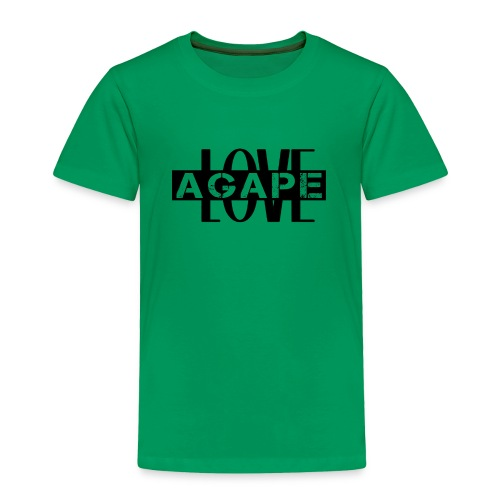 Agape LOVE - Toddler Premium T-Shirt