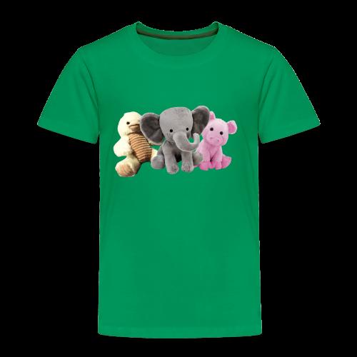 Phillip, Piggy and Ducky - Toddler Premium T-Shirt