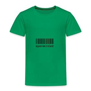 open minded logo - Toddler Premium T-Shirt