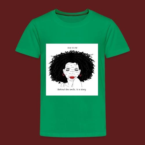 A T-shirt design all women can relate to. - Toddler Premium T-Shirt