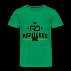 Righteous Dub Logo - Toddler Premium T-Shirt