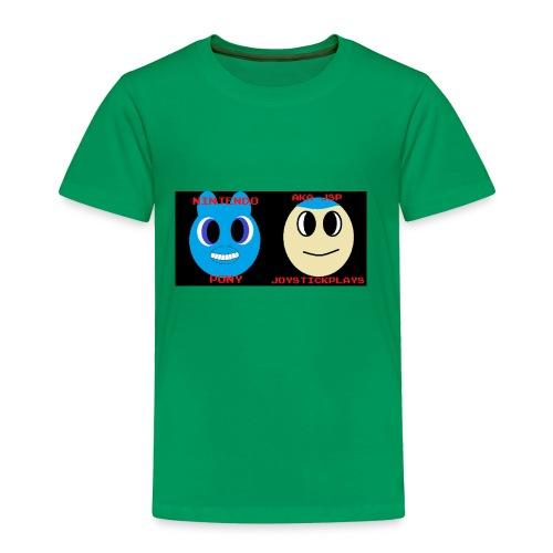 JSP and Nintendo Pony - Toddler Premium T-Shirt