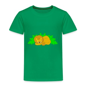 Sleeping Lion - Toddler Premium T-Shirt