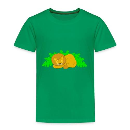 Sleeping Lion - Toddler Premium T-Shirt