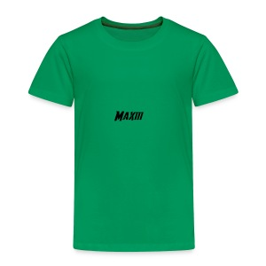Maxiii Official Logo! - Toddler Premium T-Shirt