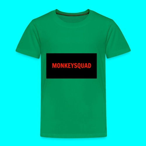MonkeySquad logo - Toddler Premium T-Shirt