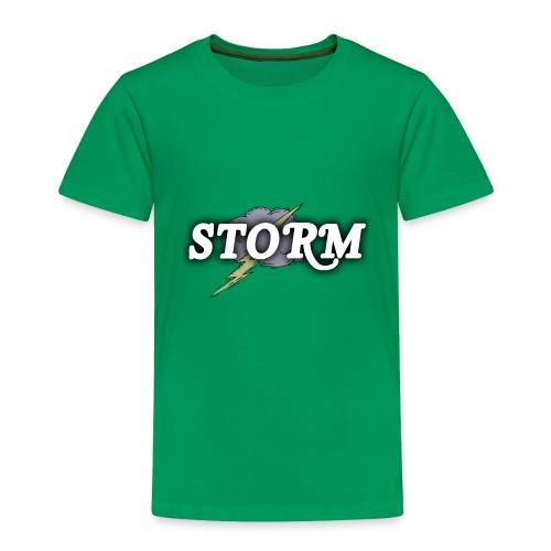 STORM Clan Gaming Thunder Logo - Toddler Premium T-Shirt