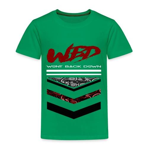 WontBackDown - Toddler Premium T-Shirt