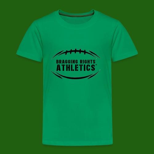BRA Football Outline - Toddler Premium T-Shirt