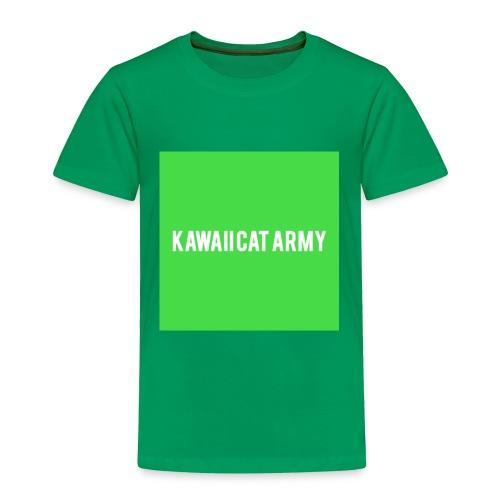 Kawaii Cat Army - Toddler Premium T-Shirt