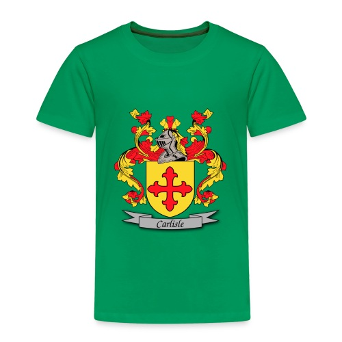 Carlisle Family Crest - Toddler Premium T-Shirt