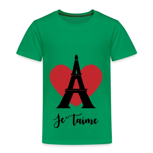 Je'taime Paris - Toddler Premium T-Shirt