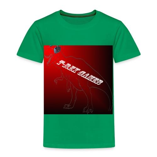 T-REX GAMER LOGO - Toddler Premium T-Shirt