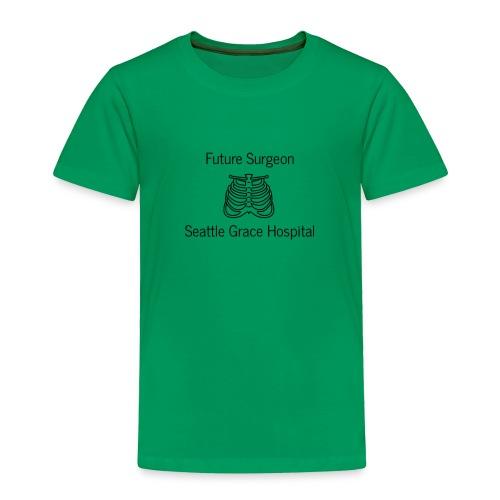 Future Surgeon Seattle Grace - Toddler Premium T-Shirt